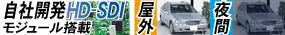 自社開発HD-SDI/EX-SDIモジュール搭載/屋外監視可能/夜間監視可能