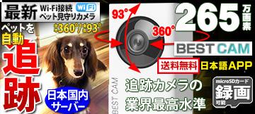 みてるちゃん  自動追跡カメラ ペット監視カメラ