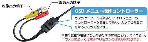 OSD,操作,コントローラー