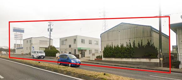 塚本無線 津工場 入り口