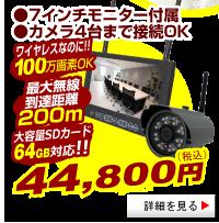 WTW-No1 100万画素無線カメラ 第一弾