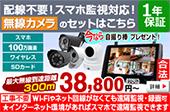 無線式 防犯カメラ