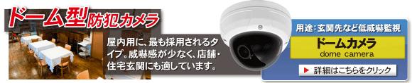 【ドームカメラ】玄関先など低威嚇監視 4K 800万画素 ドームカメラが安い!