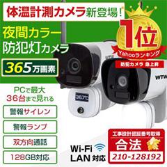 WTW-昇太郎は 警報サイレンと 警報ランプ 赤と青を点灯し モーションセンサーライトは ホワイトLEDを掃射します。