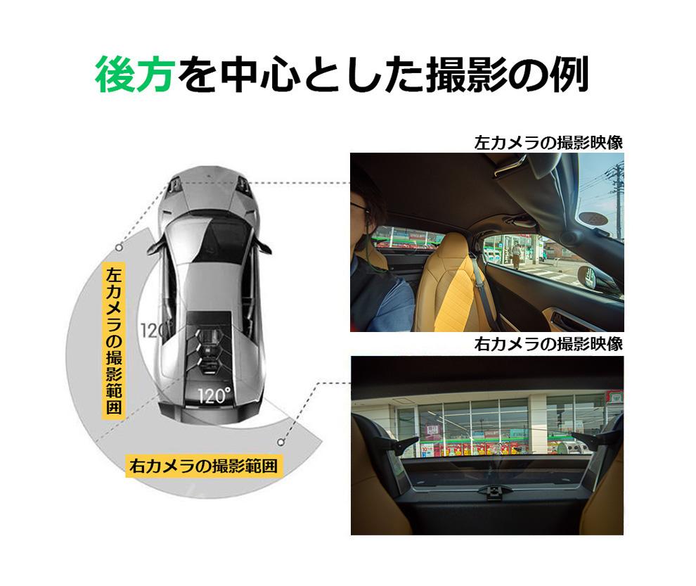 360度 ドライブレコーダー