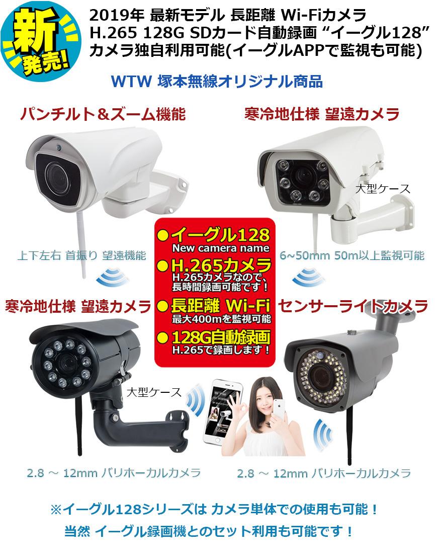イーグル128 H.265 128G SDカード録画